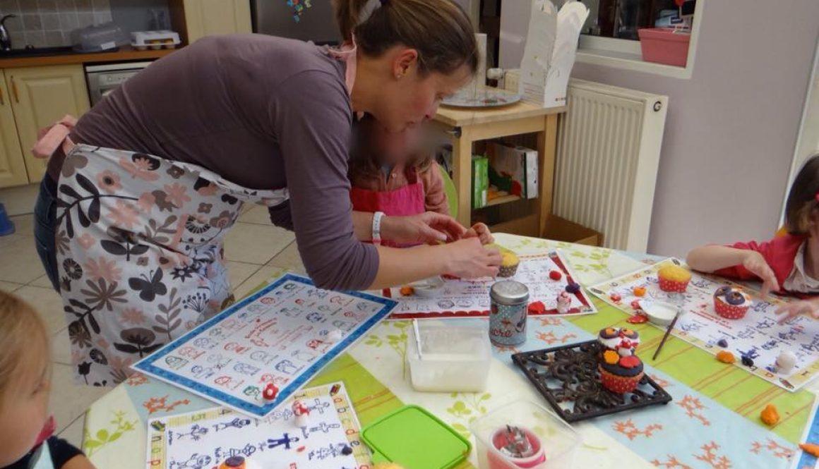 Atelier décoration de gâteaux pour enfants
